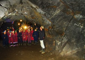 Graphit mine (c) Město Český Krumlov