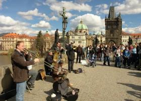 Musicians (c) Pražská informační služba www.praguewelcome.cz