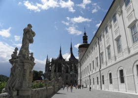 Kutná Hora - St Barbara's Church