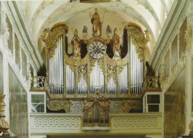 The Benedictine Abbey of St. Peter - organ