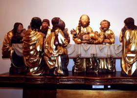 Last Supper (part of the main altar in the Church of St. James) by Master Paul of Levoča (c) Spišské múzeum v Levoči
