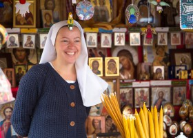 A nun from Mariazell