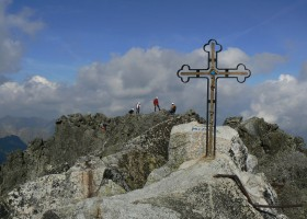 Gerlach peak in High Tatras, the highest Tatra peak