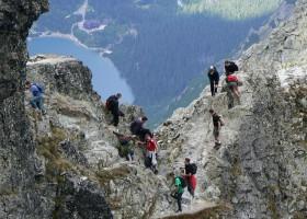 Polish invasion to Mount Rysy
