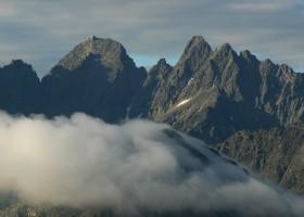 Peaks Lomnický, Pyšný and Jahňací