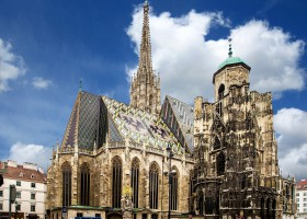 St Stephen's Cathedral in Vienna (c) Domeckopol pixabay.com