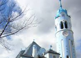 Bratislava - Blue Church